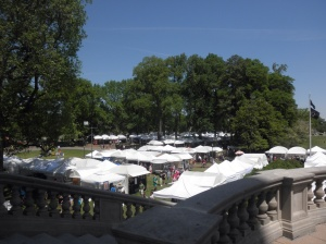 A view from the Carrilon in the park